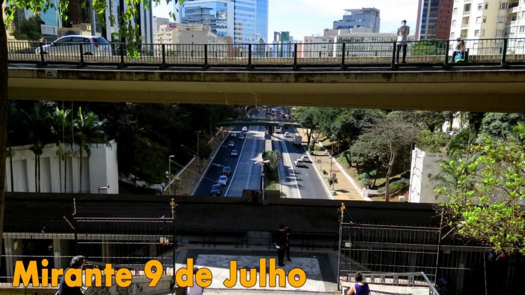 Mirante 9 de Julho Centro SP