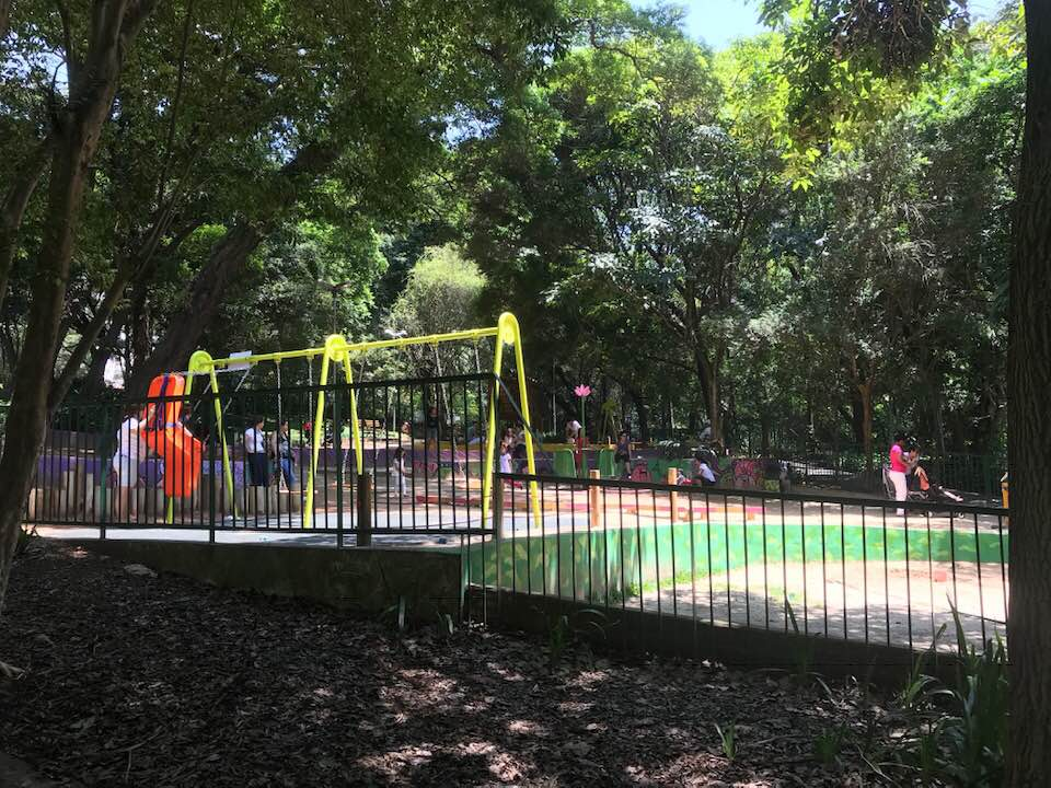 Parque Buenos Aires centro SP