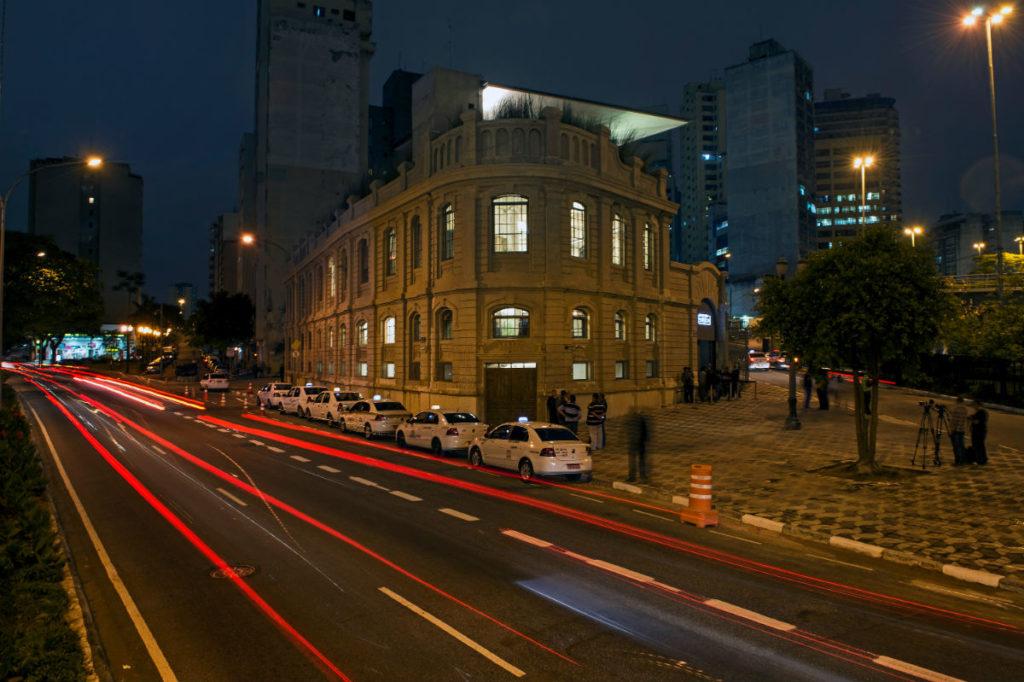 centro cultural instalado na confluência entre as avenidas 23 de Maio e 9 de Julho | Foto: Red Bull Content Pool