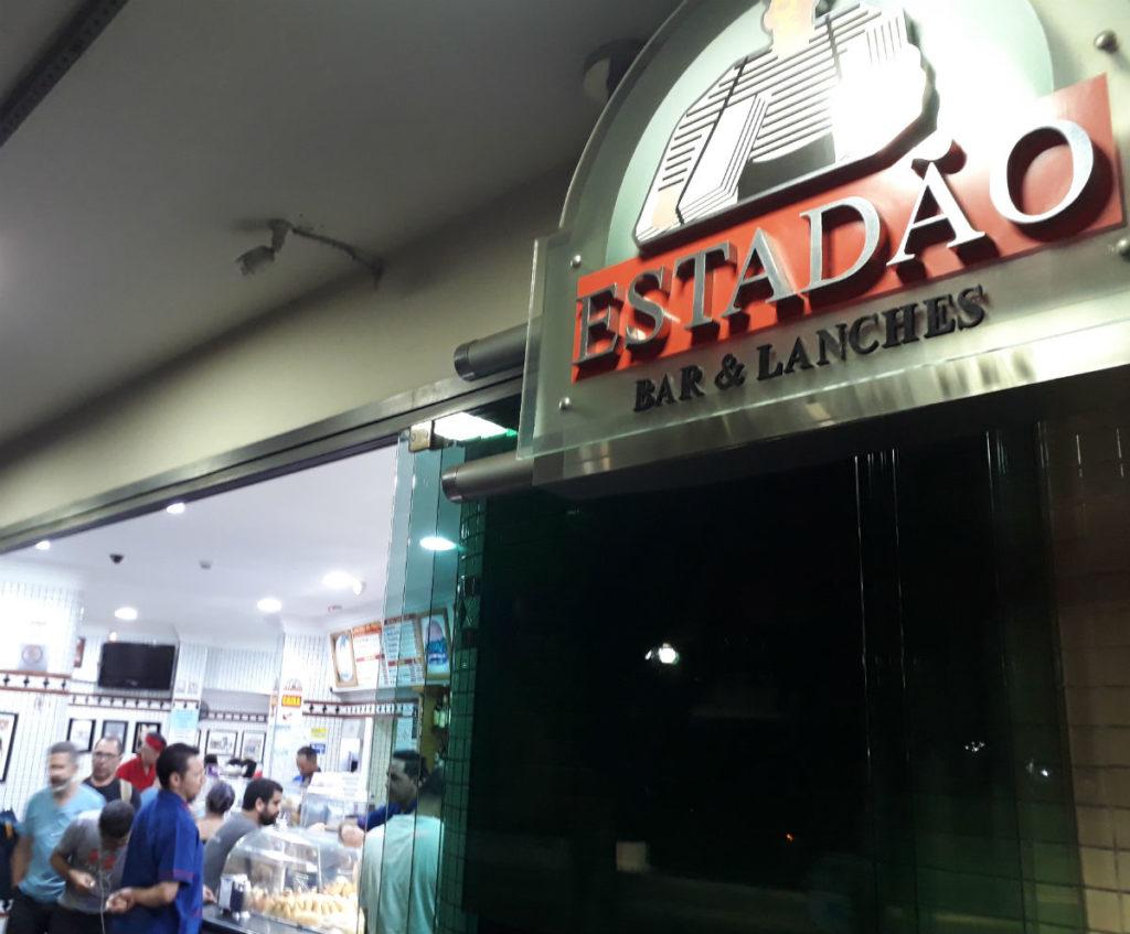 Ponto de encontro de baladeiros, mas importante também para os trabalhadores de maneira geral, Bar Estadão funciona 24 horas e só fecha nos dias 31 de dezembro e 1º de janeiro | Foto: Divulgação