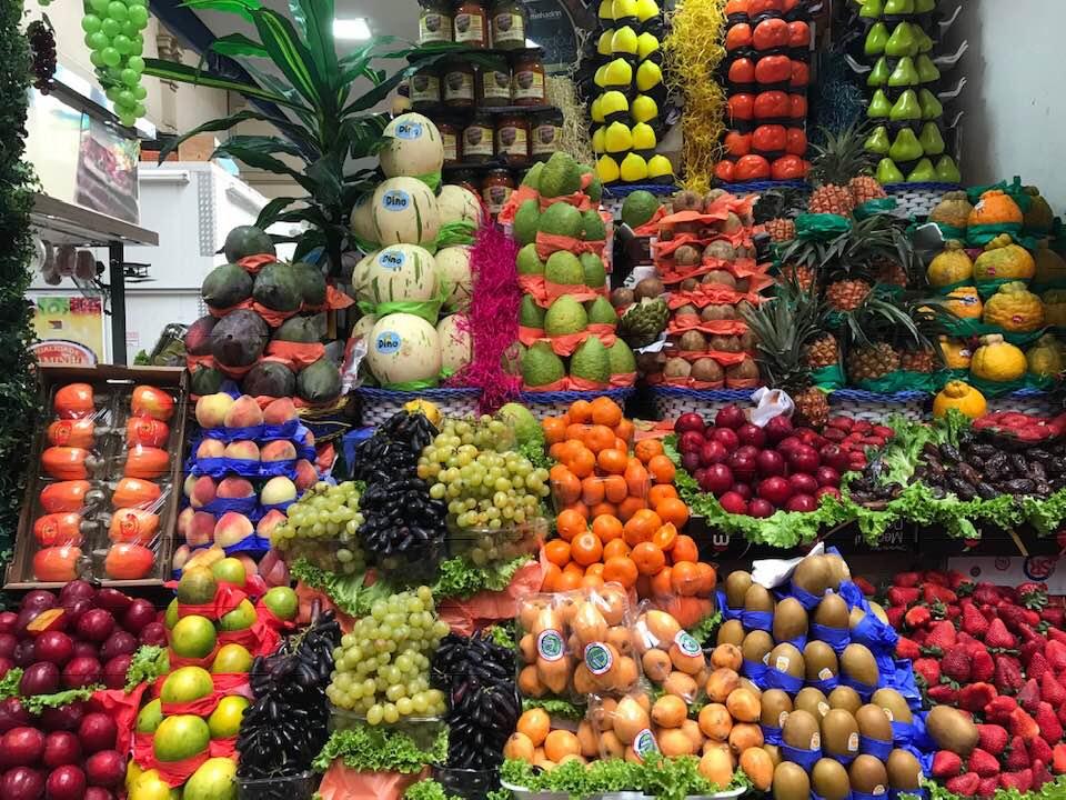Tudo fresquinho: Mercado Municipal de São Paulo exibe cores e sabores variados em sua estrutura | Foto: Divulgação